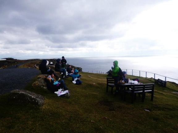 Picnic at the Westernmost tip of Europe