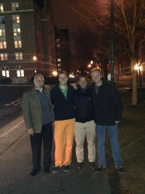 Athenian alum gave an impromptu Georgetown tour