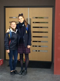 Kelsey at the Scotch Oakburn School in Australia